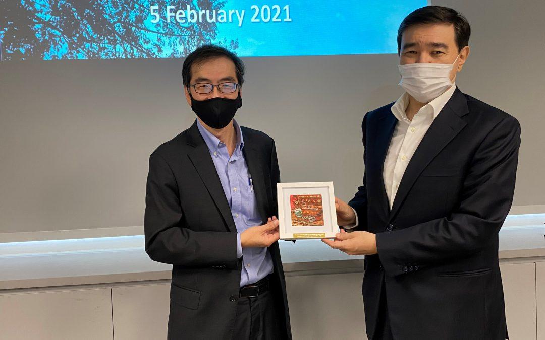 Visit by Ambassador of Kazakhstan
